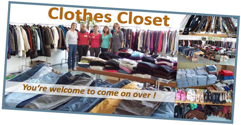 Refugees: Kleiderkammer